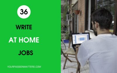Write at Home: 36 Freelance Writing Jobs in 2020