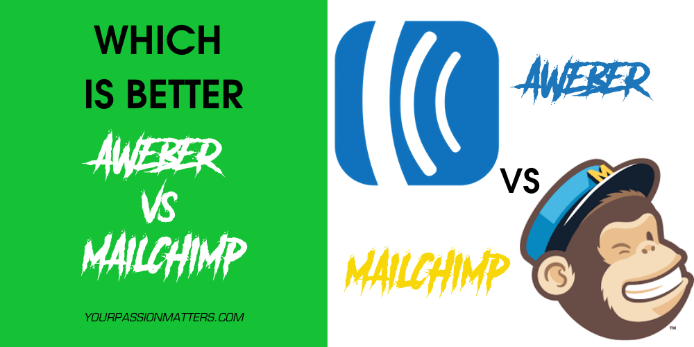 Aweber vs MailChimp: Which Email Marketing Service is Better?